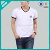 Wholesale V-neck short sleeve men t-shirts (lyt010006)