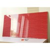 White / Red / Black Embossed 3D MDF Board Interior Decorative Wall Panels