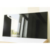 Black Water Resistant UV MDF Board / Chipboard For Kitchen Cabinet Door