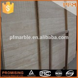 Polished cheap beige carrara marble bathroom tile