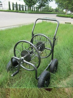 2014 newest high quality cheaper Toplong 250FT hose capacity Hose Reel cart Truck