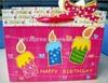 printed recycle birthday paper bag