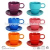 Custom printed ceramic coffee & tea set,porcelain cup & saucer,wholesale tea sets