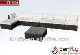 TF-9008 8pcs leisure wicker sofa Set