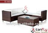 TF-9050 wicker rattan sofa furniture modular sofa