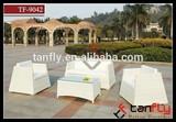 TF-9042 PE rattan sofa set