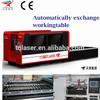 China new 2000W Metal Sheet Fiber Laser Cutting Machine with AC Servo Motor