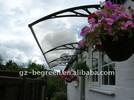 120cm*300cm aluminum frame sun rain shelter,front door canopy,garden used canopy