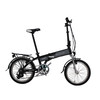 Electric Folding Bike with Hidden Battery Design