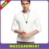 Wholesale 100 cotton white plain t shirts for men