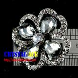 Flower brooch pins rhinestone brooches fancy crystal brooches