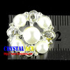 Pearls rhinestone brooches,crystal jewel rhinestone brooches