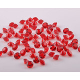 Wholesale Crystal Diamond Glass Table Confetti, pointed chatons unfoiled back for Wedding Party Decor Scatter