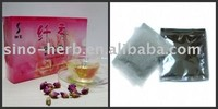 Chinese herbal tea,100 natural and safe,Works effective,Slimming herb teabag.