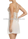 Summer Sexy Lady Silky Satin Nightgown