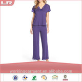 Wholesale 2015 Popular Openwork Lace Woman Pajamas Sleepwear