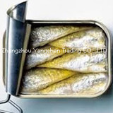125g Origin High Quality canned sardine in oil