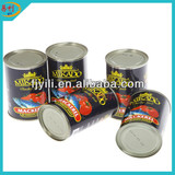 Spicy canned mackerel with Halal certificate