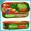 Supply 125g canned sardines in club can