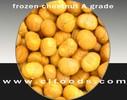 frozen roasted chestnut meat