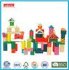 68pcs colorful Wooden Building Blocks