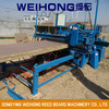 Reeding/straw mat knitting/weaving machine