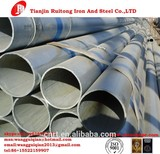 ERW,High frequecy welding Technique and Round Section Shape galvanized steel pipe Hot dip GI