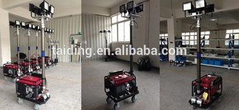 Top Quality Light tower, Genset light tower, light tower with generator