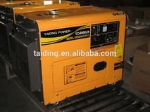 Super Quality Diesel Silent Generator 5kw Factory