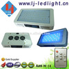 Intelligent led aquarium light 55x3w with remote control lighting timing and luminance dimmable for fish coral reef tank