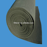 spray booth carbon filter media roll