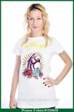 New product fashtion designs OEM women T-shirt garment factory