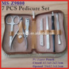 (MS-Z9800) PU Zipper Pouch 7 PCS Manicure & Pedicure Set