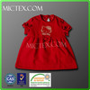 Fashion design red baby girl clothes kid dress