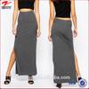 New Look Jersey Split Long Maxi Skirt