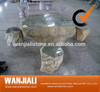 Natural Granite Table/Chair/Bench For Garden/ Park