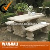 Customized Stone Park/ Garden Granite Table With Chair