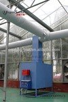 natural gas diesel oil fuel air heater for greenhouse heating