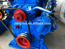 water cooled chinese outboard motor sail 295AC,15KW Two cylinder diesel marine engine ship engine