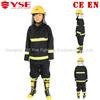 EN469 kevlar 4 layer fireman rescue suit