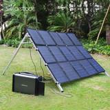 Newest Portable 500W Solar Power Generator System