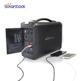Portable Solar Power System for Emergency Mobile Phone Charging