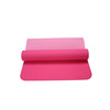 "DM TPE Yoga Mat: HOTPINK+LIGHT PINK, 24"" x 72"" x 6mm"