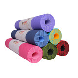 DM Premium Yoga Mats Extra Long TPE Yoga Mat, Non Slip Exercise Mat with SGS TEXT, Eco-Friendly without Chemical Smell,1/4 inch thick, Washable and Durable, Difficut to Deform