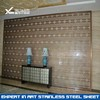 customized 304 201 4*8 color stainless steel sheet for stainless steel screen