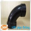 ABS dwv pipe fittings