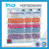 twisted baker's twine 1mm , single twisted cotton twine , 1 mm colorful baker 's twine