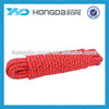16 strand polypropylene rope , 16 strand braided pp rope, 10 mm braided rope