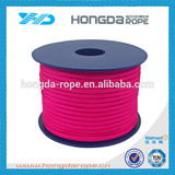 4mm polyester parachute rope 550 paracord cord pink