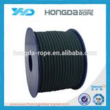 4mm polyester parachute rope 550 parachute cord black